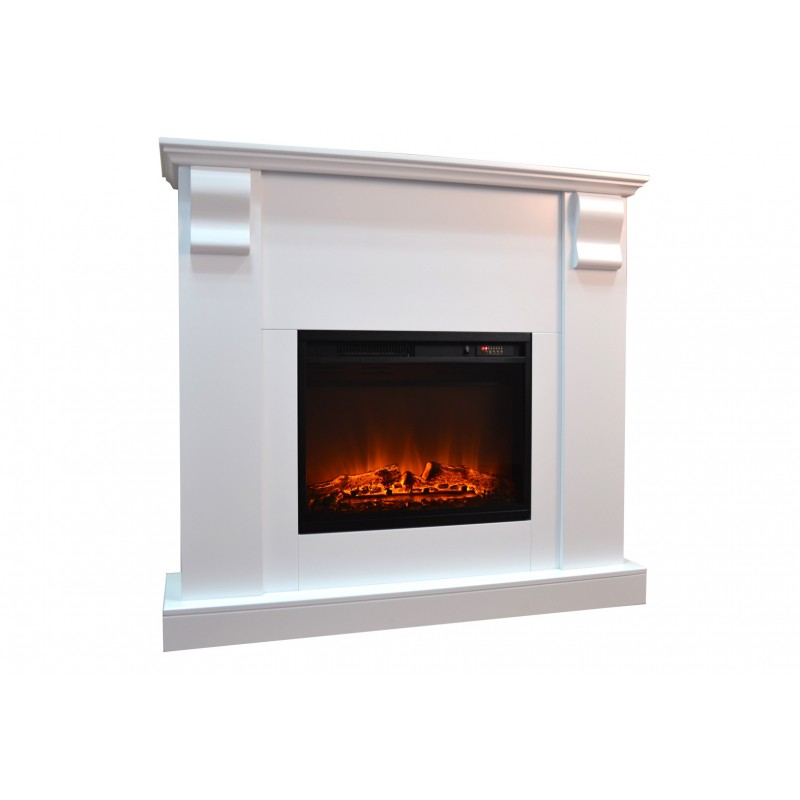 Chimenea électrica KAMIN ROYAL blanca