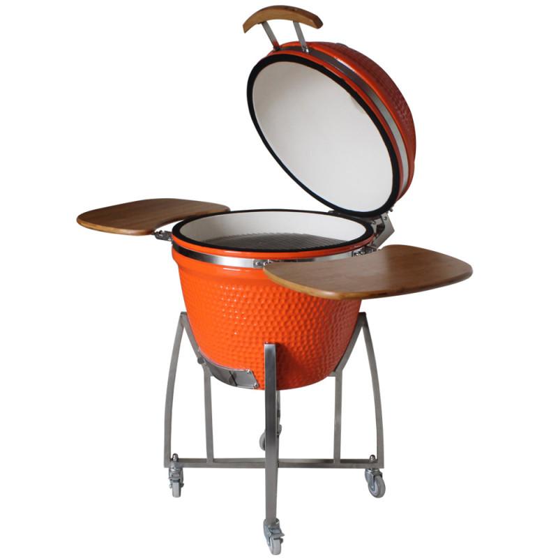 kamado kingsize grill ceramica xxl 60 orange
