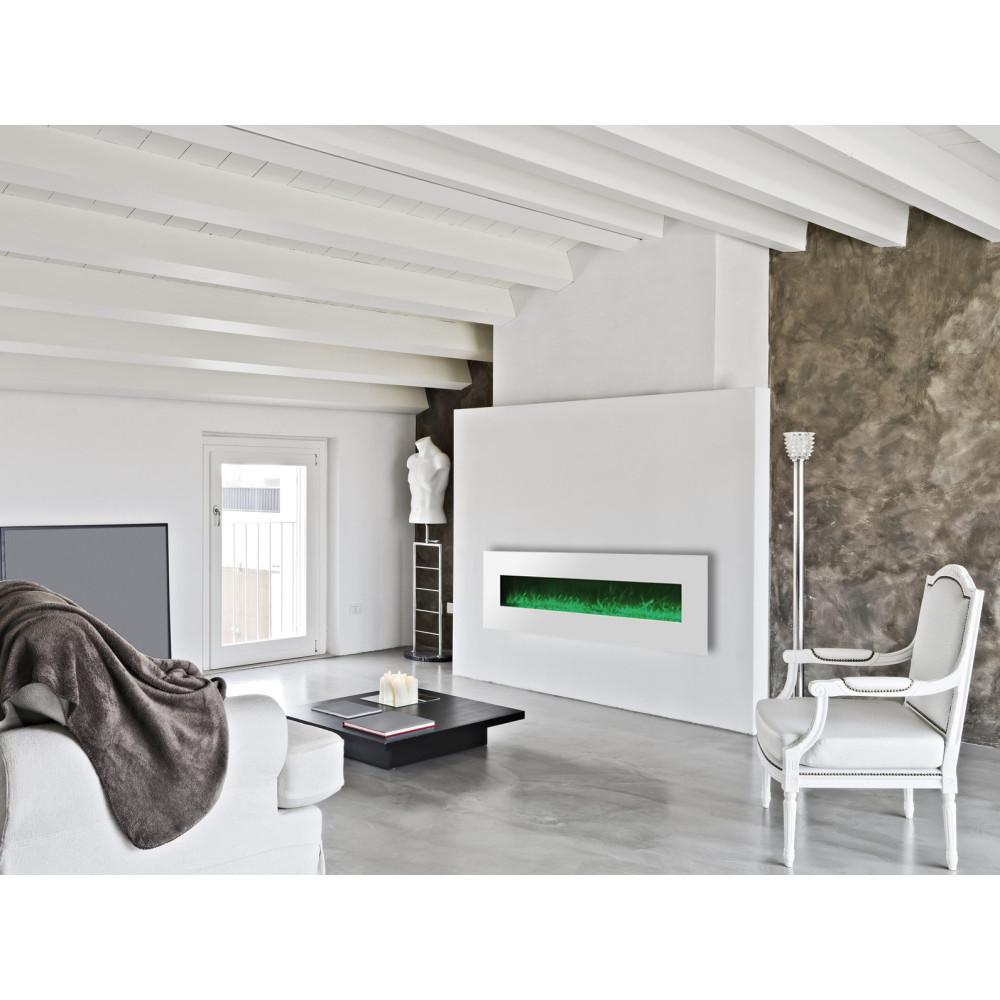 cheminee electrique 182cm design luxury kamin 72 blanche. Black Bedroom Furniture Sets. Home Design Ideas